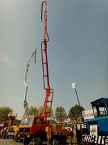 Motore ADIM per camion betoniera con braccio a getto