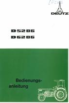 D 52 06 - D 62 06 - Bedienungsanleitung