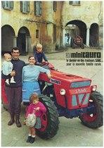 Minitauro - le dernier né des tracteurs SAME