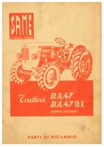 DA 47-47 DT - Catalogo Parti di Ricambio