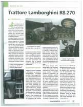 Trattore Lamborghini R8.270