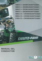 5080 D ->ZKDBC20200TD30001 - 5080 D ->ZKDBD40200TD30001 - 5090 D ->ZKDBC60200TD30001 - 5090 D ->ZKDBD80200TD30001 - 5090.4 D ->ZKDBD00200TD30001 - 5090.4 D ->ZKDBE20200TD30001 - 5100.4 D ->ZKDBE60200TD30001 - Manual del conductor