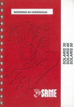 SOLARIS 30 - 40 - 50 - Bediening en Onderhoud