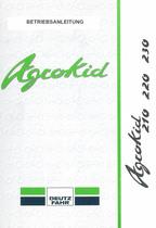 AGROKID 210 - 220 - 230 - Betriebsanleitung
