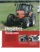 Proefrit: SAME Iron 165. Trendy retro