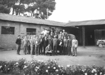 Primo corso di aggiornamento per insegnanti di Meccanica Agraria negli Istituti Agrari di Roma (Capannelle)