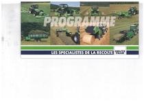 Catalogo di Gamma - Programme Les Specialistes de la Recolte
