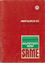 MINITAURUS 60 - Bedienung und Wartung