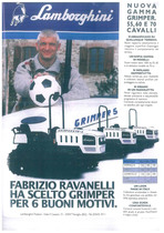 Nuova gamma GRIMPER 55 - 60 - 70 cavalli - Fabrizio Ravanelli ha scelto GRIMPER per 6 buoni motivi