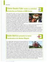 SAME Deutz- Fahr vende su actividad productiva en Polonia a CBM Group