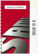 ROLLER W 55 - 70 - Instrukcja Użytkownika