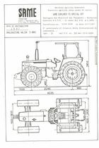 Atto di omologazione della trattrice SAME Explorer 70 Special VDT