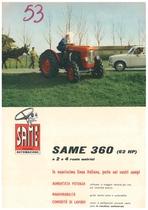 Same 360 (62 HP) a 2 e 4 Ruote Motrici