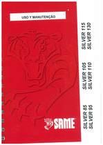 SILVER 85-95-105 - 110 - 115 - 130 - Uso e Manutençao