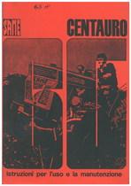 CENTAURO 65 - Libretto uso & manutenzione