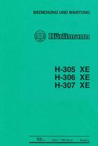 H 305 XE - H 306 XE - H 307 XE - Bedienung und Wartung