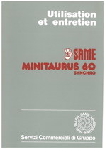 MINITAURUS 60 SYNCHRO - Utilisation et entretien