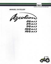 AGROTRON 80 MK3 - AGROTRON 85 MK3 - AGROTRON 90 MK3 - AGROTRON 100 MK3 - AGROTRON 105 MK3 - Manuel d'atelier