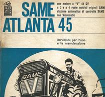 ATLANTA 45 - Libretto uso e manutenzione