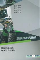 5100 TTV - 5110 TTV - 5120 TTV - 5130 TTV - Bedienings-handleiding