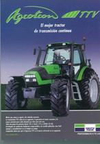 AGROTRON TTV El mejor tractor de trasmision continua