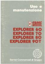 EXPLORER 60 - 70 - 80 - 90 T - Libretto uso & manutenzione