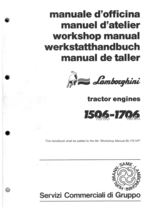 1506-1706 TURBO - Workshop manual