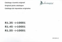 R1.35 ->10001 - R1.45 ->10001 - R1.55 ->10001 - Catalogo ricambi originali / Original parts catalogue / Catalogo de repuestos originales