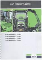 AGROFARM 410-420 T - Libretto Uso & Manutenzione