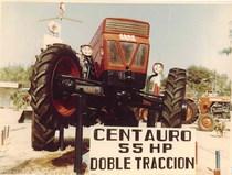 Lancio del trattore SAME Centauro alla VI Fiera Provincial del Campo a Manzanares (Spagna)