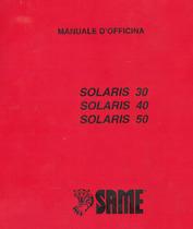 SOLARIS 30 - SOLARIS 40 - SOLARIS 50 - Manuale d'officina