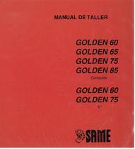 GOLDEN 60-65-75-85 COMPATTO - 60-75 V - Manual de taller