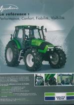 AGROTRON La référence: Performance, Comfort, Fiabilité, Visibilité