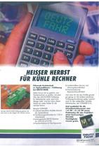 Heisser Herbst fuer Kuehle Rechner