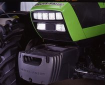 [Deutz-Fahr] trattore Agrotron TTV 1160 dettagli cofano