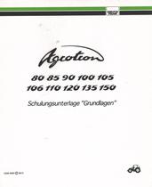 """AGROTRON 80 - AGROTRON 85 - AGROTRON 90 - AGROTRON 100 - AGROTRON 105 - AGROTRON 106 - AGROTRON 110 - AGROTRON 120 - AGROTRON 135 - AGROTRON 150 - Schulungsunterlage """"Grundlagen"""""""