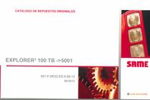 EXPLORER³ 100 TB ->5001 - Catalogo de repuestos originales