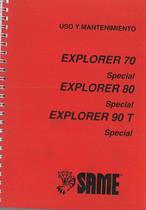 EXPLORER 70 - 80 Special - 90 T Special Uso y Mantenimineto