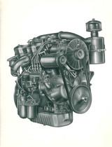 Motore SAME 954 a V