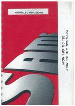 IRON 100 - 110 - 120 - 100 HI-LINE - 110 HI-LINE - 120 HI-LINE - Manuale d'istruzione