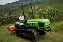 [Deutz-Fahr] trattore Agroclimber con erpice