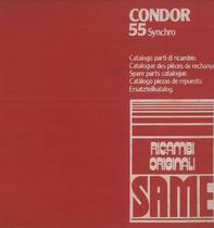 CONDOR 55 SYNCHRO - Catalogo Parti di Ricambio / Catalogue de pièces de rechange / Spare parts catalogue / Ersatzteilliste / Lista de repuestos