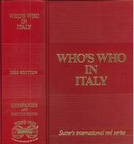 COLOMBO Giancarlo, WHO'S WHO IN ITALY, Zurich, Who's who edition, 2003