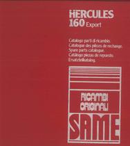 HERCULES 160 EXPORT - Catalogo Parti di Ricambio / Catalogue de pièces de rechange / Spare parts catalogue / Ersatzteilliste / Lista de repuestos