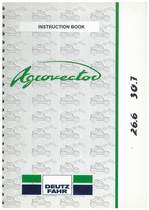 AGROVECTOR 26.6-30.7 - Operating and Maintenance