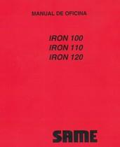 IRON 100 - IRON 110 - IRON 120 - Manual de oficina
