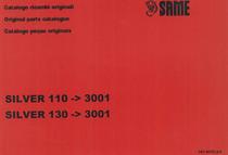 SILVER 110-130 - Catalogo Parti di Ricambio / Spare parts catalogue / Lista de repuestos