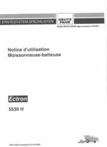 ECTRON 5530 H - Notice d'utilisation