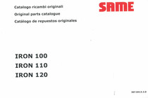 IRON 100 - 110 - 120 - Catalogo ricambi originali / Original parts catalogue / Catalogo de repuestos originales