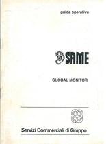 SAME GLOBAL MONITOR - Libretto uso & manutenzione
